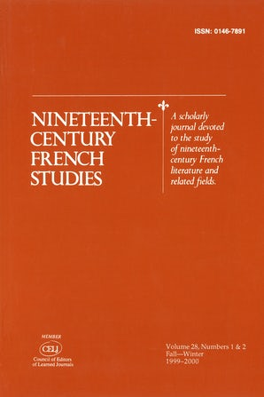 Nineteenth-Century French Studies 28:1/2