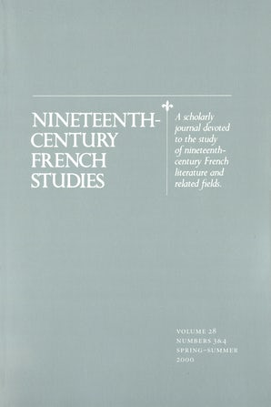 Nineteenth-Century French Studies 28:3/4