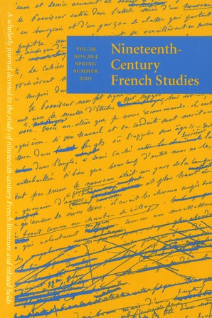 Nineteenth-Century French Studies 29:3/4