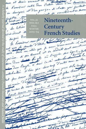 Nineteenth-Century French Studies 32:1/2