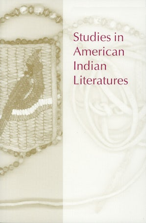 Studies in American Indian Literatures 18:1