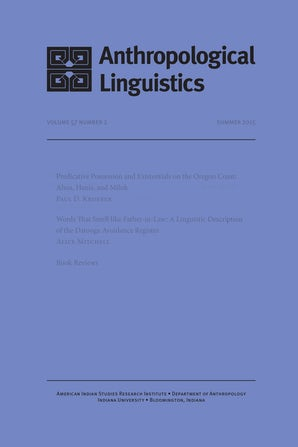 Anthropological Linguistics 53:2