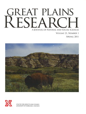 Great Plains Research 21:1