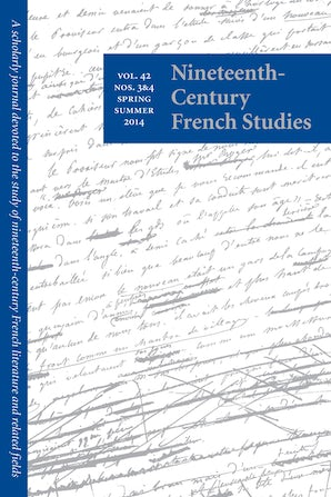 Nineteenth-Century French Studies 42:3/4