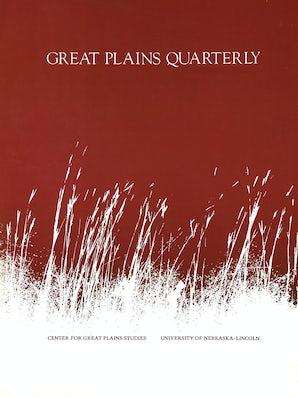 Great Plains Quarterly 09:1