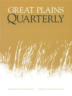 Great Plains Quarterly 22:3