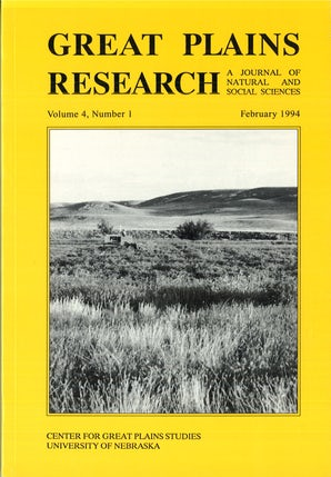 Great Plains Research 04:1