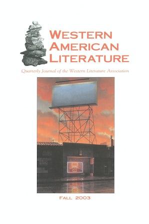 Western American Literature 38:3