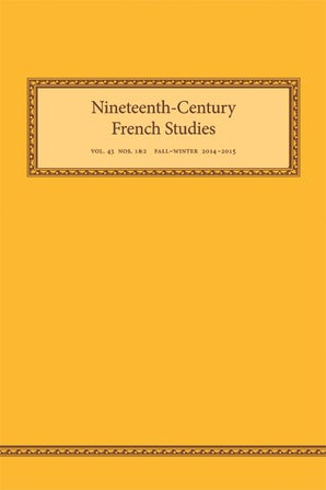Nineteenth-Century French Studies 43:1/2