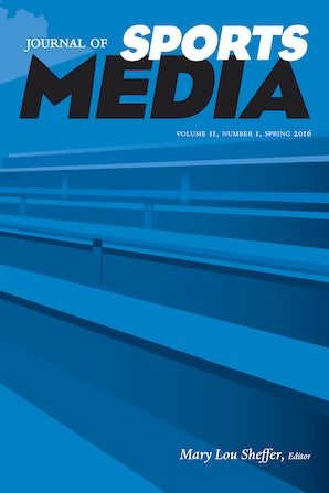 Journal of Sports Media 10:1