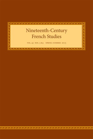 Nineteenth-Century French Studies 43:3/4