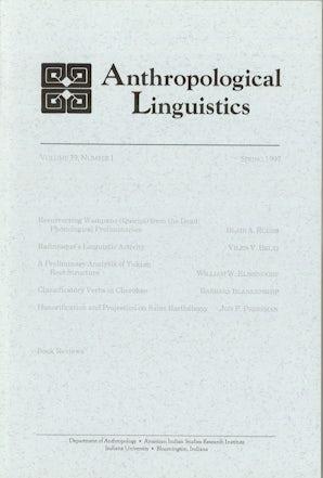 Anthropological Linguistics 39:1