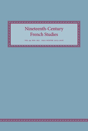 Nineteenth-Century French Studies 44:1/2