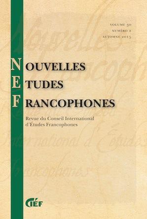 Nouvelles Études Francophones 30:2