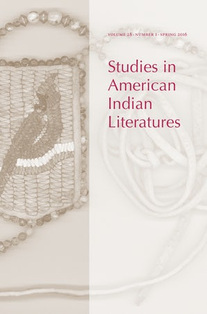 Studies in American Indian Literatures 28:1