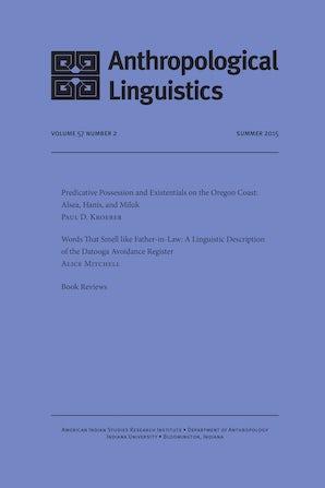 Anthropological Linguistics 57:2