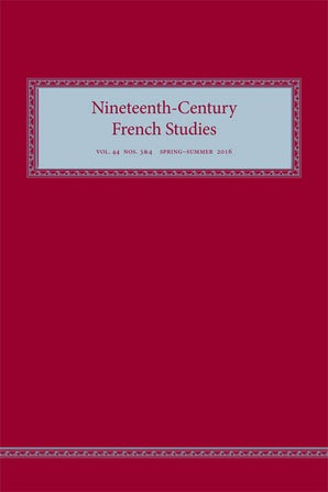 Nineteenth-Century French Studies 44:3/ 4