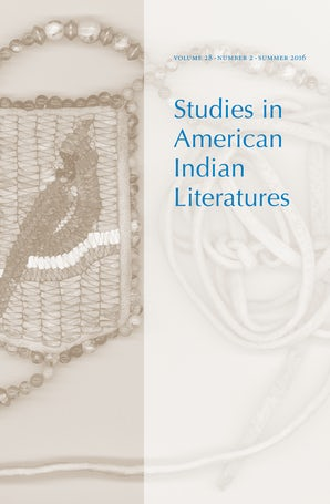 Studies in American Indian Literatures 28:2