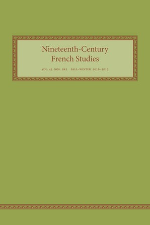 Nineteenth-Century French Studies 45:1/ 2