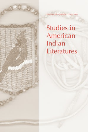 Studies in American Indian Literatures 28:3