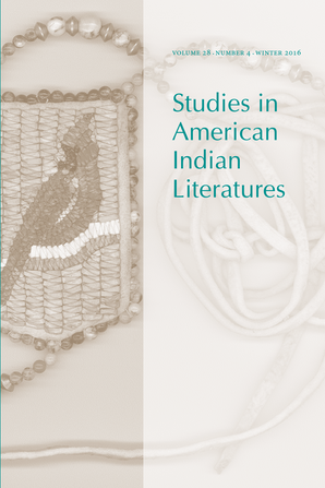 Studies in American Indian Literatures 28:4