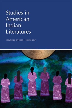 Studies in American Indian Literatures 29:1