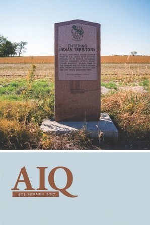 American Indian Quarterly 41:3
