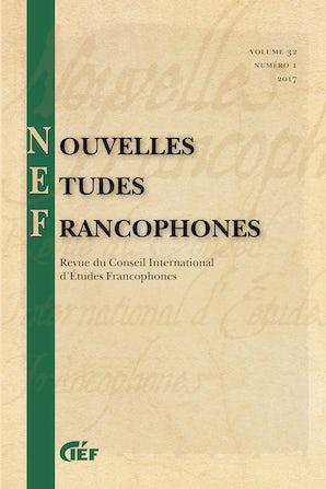 Nouvelles Études Francophones 32:1