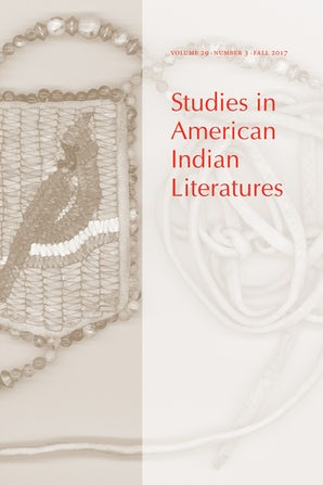 Studies in American Indian Literatures 29:3