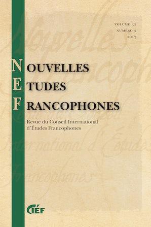 Nouvelles Études Francophones 32:2