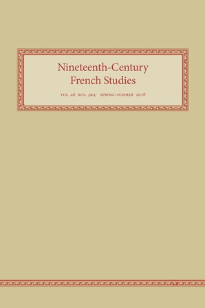 Nineteenth-Century French Studies 46:3-4