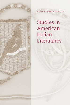 Studies in American Indian Literatures 30:1