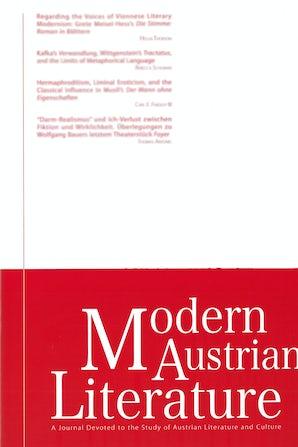 Modern Austrian Literature 44:3/4