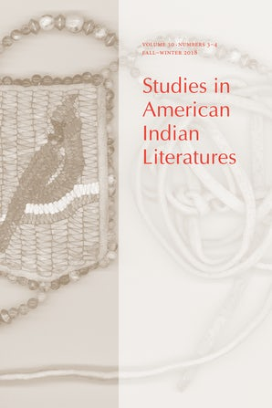 Studies in American Indian Literatures 30:3-4