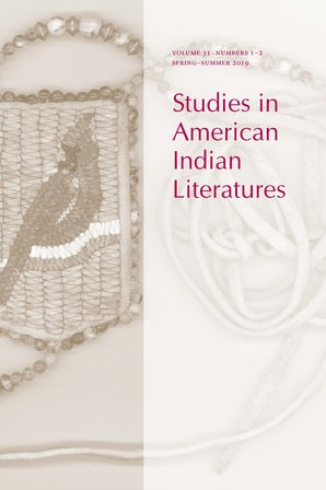 Studies in American Indian Literatures 31:1-2