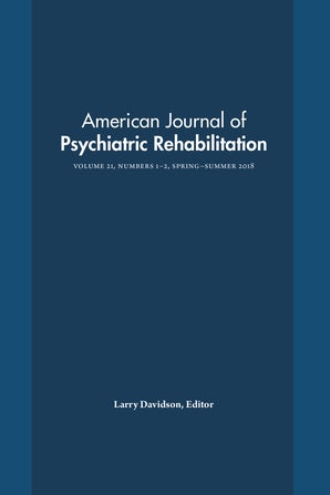 American Journal of Psychiatric Rehabilitation 21:1-2