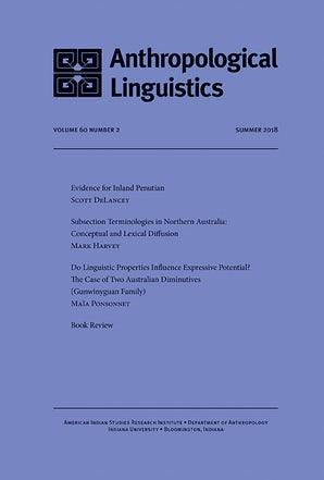 Anthropological Linguistics 60:2