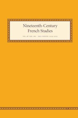 Nineteenth-Century French Studies 48:1-2