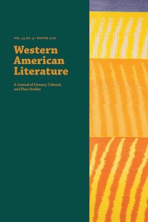 Western American Literature 54:4