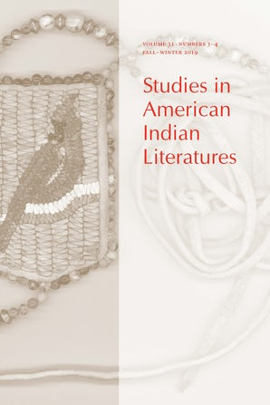 Studies in American Indian Literatures 31:3-4