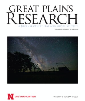Great Plains Research 30:1