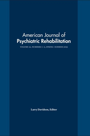 American Journal of Psychiatric Rehabilitation 22:1-2
