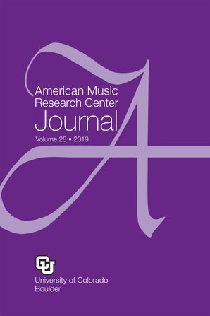 American Music Research Center Journal 28:1