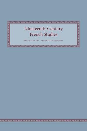 Nineteenth-Century French Studies 49:1-2