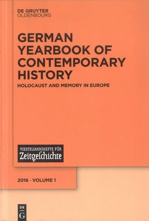 German Yearbook of Contemporary History 01:1