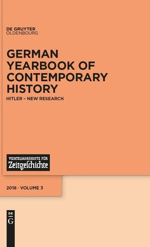 German Yearbook of Contemporary History 03:1