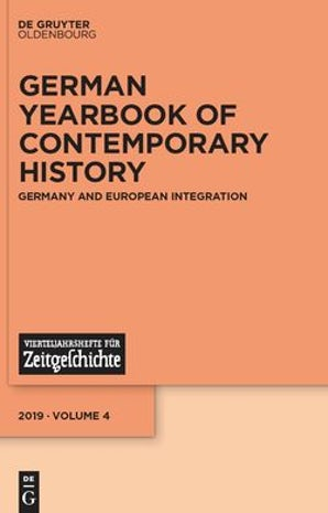 German Yearbook of Contemporary History 04:1