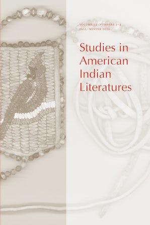 Studies in American Indian Literatures 32:3-4