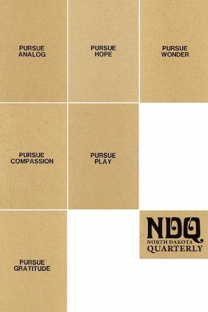 North Dakota Quarterly 88:1/2