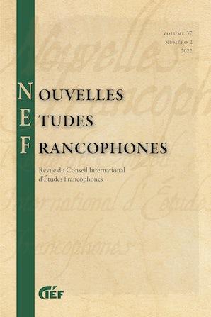 Nouvelles Études Francophones